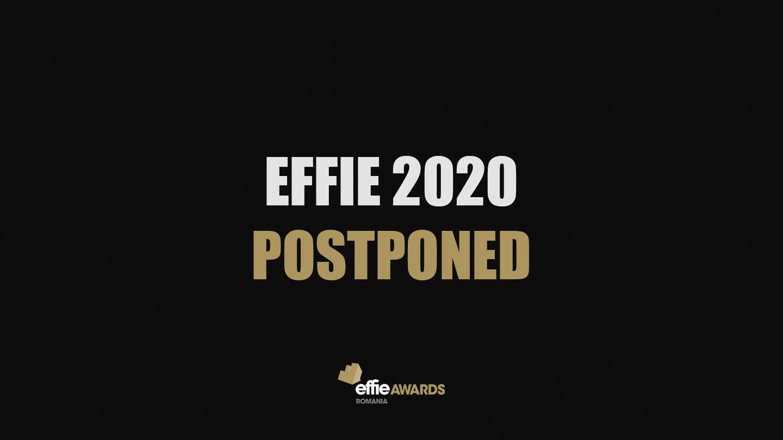 Effie postponed