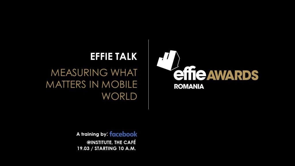 effie facebook training